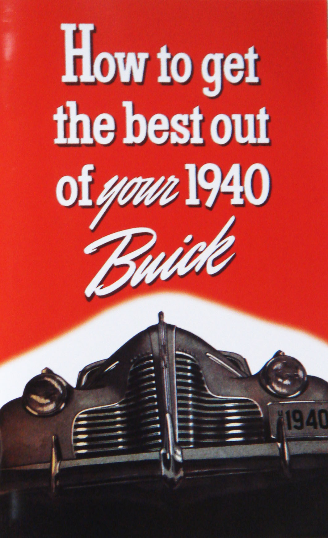 1940 Buick Owners Manual