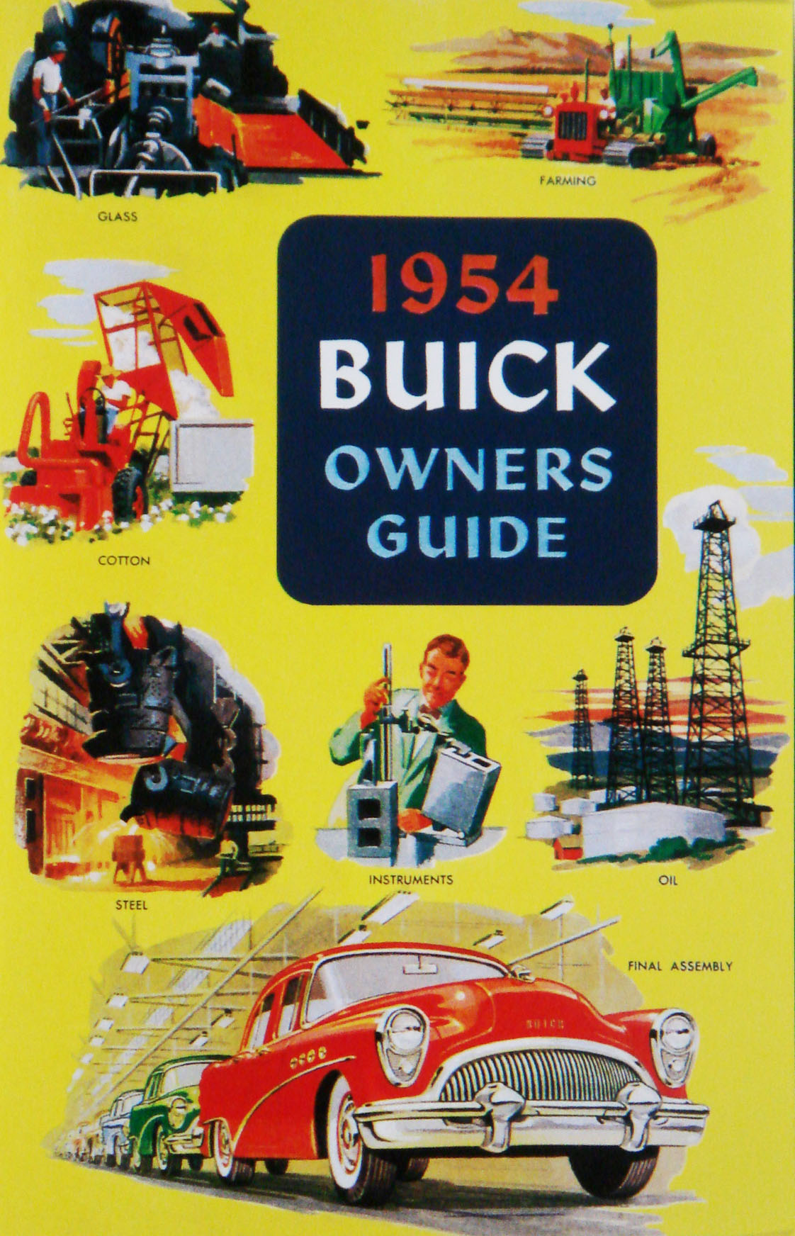 1954 Buick Owners Manual