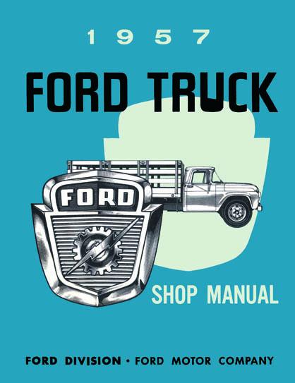 1957 Ford Truck Repair Manual