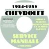 1984-1985 CHEVY SERVICE MANUALS REPAIR, OVERHAUL, AND BODY MANUALS