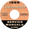 1959 OLDSMOBILE REPAIR MANUAL- ALL MODELS