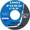 1961 FORD CAR REPAIR MANUAL - ALL MODELS
