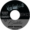 1963 CADILLAC REPAIR MANUAL - ALL MODELS