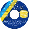 1965 CADILLAC REPAIR MANUAL AND BODY MANUAL - ALL MODELS