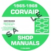 1965, 1966, 1967, 1968, 1969 Corvair Repair Manuals