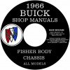 1966 BUICK REPAIR MANUAL AND BODY MANUAL ALL MODELS
