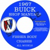 1967 BUICK REPAIR MANUAL & BODY MANUAL - ALL MODELS