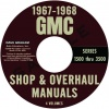 1967-1968 GMC TRUCK REPAIR MANUALS ALL MODELS