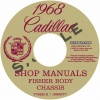 1968 CADILLAC REPAIR MANUAL & BODY MANUAL - ALL MODELS