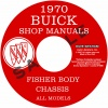 1970 BUICK REPAIR MANUAL & BODY MANUAL - ALL MODELS