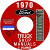 1970 FORD TRUCK REPAIR MANUALS