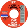1971 FORD, LINCOLN, MERCURY REPAIR MANUALS � ALL MODELS