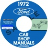 1972 FORD. LINCOLN, MERCURY REPAIR MANUALS – ALL MODELS