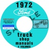 1972 FORD TRUCK REPAIR MANUALS 5 VOLUME SET