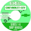 1972, 1973, 1974, 1975, 1976, 1977 CHEVROLET LUV REPAIR MANUALS