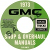 1973 GMC TRUCK REPAIR MANUALS 1500-3500