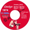 1974 DODGE CHASSIS AND BODY SERVICE REPAIR MANUALS - ALL MODELS