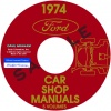 1974 FORD, LINCOLN, AND MERCURY REPAIR MANUALS – ALL MODELS