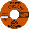 1975-1976 FORD, LINCOLN, & MERCURY CAR REPAIR MANUALS