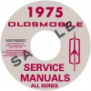 1975 OLDSMOBILE REPAIR MANUAL & BODY MANUAL - ALL MODELS