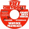 1977 CHEVROLET PICKUP, BLAZER, VAN, & SUBURBAN REPAIR MANUAL