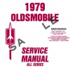1979 OLDSMOBILE REPAIR MANUAL & BODY MANUAL- ALL MODELS