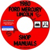 1980 FORD LINCOLN MERCURY CAR REPAIR MANUAL – ALL MODELS
