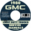 1980 GMC 1500-3500 REPAIR MANUAL