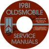 1981 OLDSMOBILE REPAIR MANUAL& BODY MANUAL- ALL MODELS