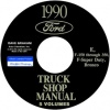 1990 FORD TRUCK REPAIR MANUALS 5 VOLUME SET