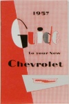 1957 Chevy Car Owners Manual