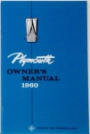 1960 Plymouth Owners Manual