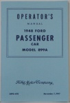1948 Ford Car Owners Manual