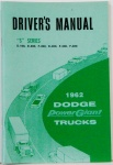 1962 Dodge Truck Owners Manual