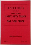 1946 Ford Truck Owners Manual