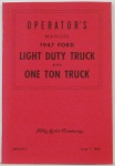 1947 Ford Truck Owners Manual