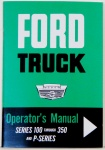 1964 Ford Truck Owners Manual