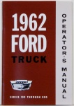 1962-Ford Truck Owners Manual