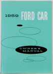 1959 Ford Car Owners Manual