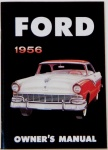 1956 Ford Car Owners Manual