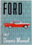 1957 Ford Car Owners Manual