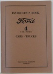 1932 Ford Car & Truck Owners Manual 4Cyl