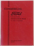 1933 Ford Truck Owners Manual