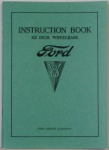 34 Ford Car & Truck Owners Manual