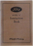 1929 Ford Car Owners Manual