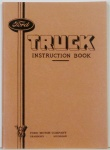 1935 Ford Truck Owners Manual
