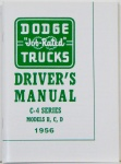 1956 Dodge Truck Owners Manual