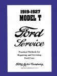 1919, 1920, 1921, 1922, 1923, 1924, 1925, 1926, 1927 Ford Model T Service Manual