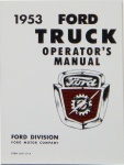 1953 Ford Truck Owners Manual