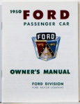 1950 Ford Car Owners Manual